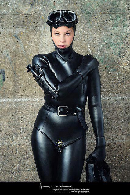 Latex suits women