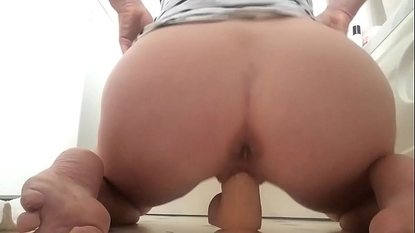 Dildo from behind